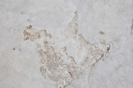 hollow walls: Damage fault defects in grunge concrete wall or floor with stains background