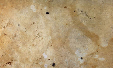 더러운 얼룩 범포 캔버스 질감 배경 무늬의 오래 된 그런 지 빈티지 갈색 아마 오리 리넨 직물 섬유