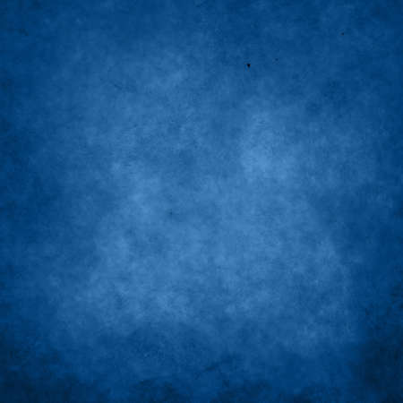 Dark blue abstract grunge texture cloudy paper background with stains, paint strokes and cracks