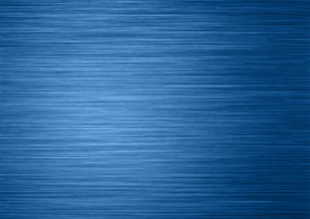 Background texture of blue toned brushed steel or aluminum metal surface