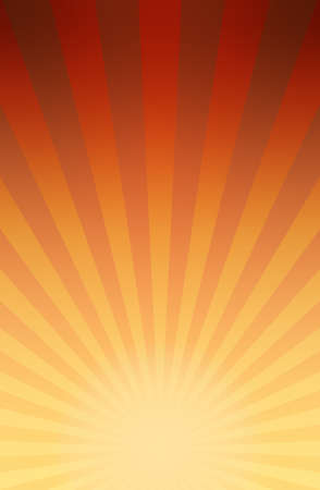Vector illustration background of retro comic book style striped explosion or rays of sunburst with light and dark gradient 矢量图像
