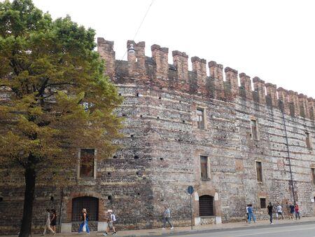 verona: Fortress in Verona, Italy Editorial