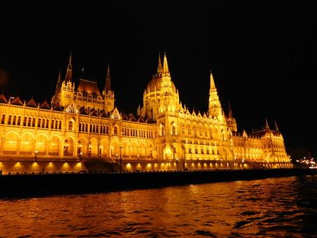 parliament square: Budapest
