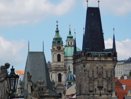 An old architectural building in Prague