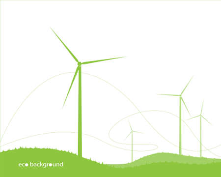 vector ecology background for your design Vector
