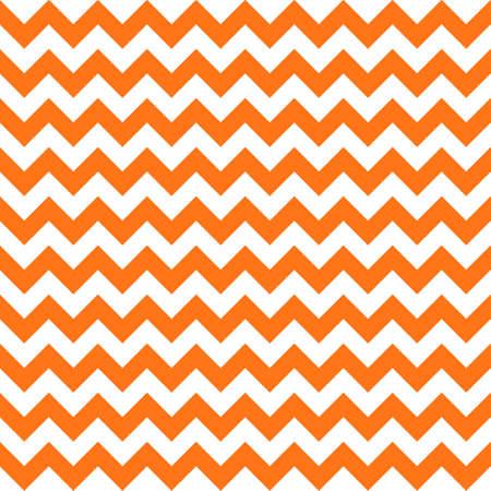 halloween orange chevron seamless pattern background. vector illustration  イラスト・ベクター素材
