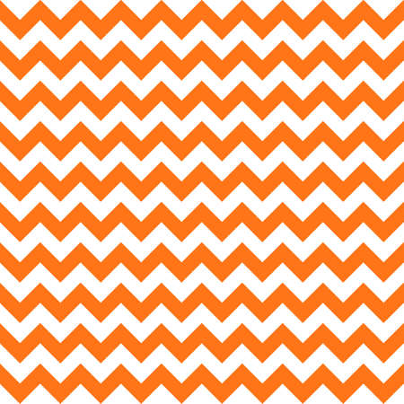 halloween orange chevron seamless pattern background. vector illustration Illustration
