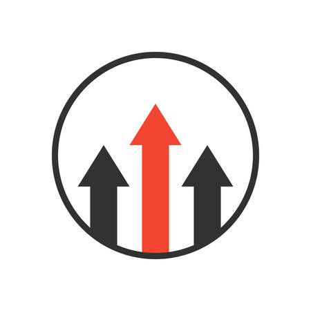 advantages: advantage icon. business growth concept. isolated on white background.