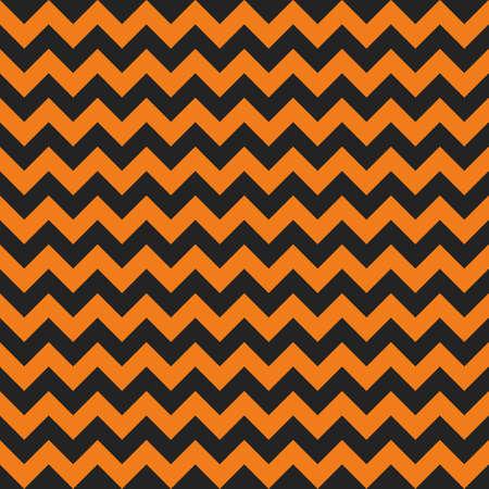Halloween chevron seamless pattern background. Ilustrace