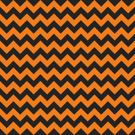 Halloween chevron seamless pattern background. Çizim