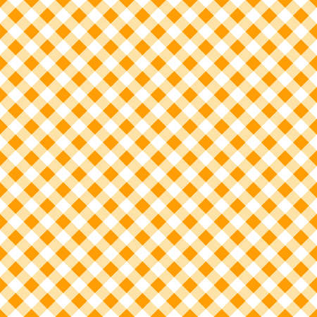 autumn gingham seamless pattern. thanksgiving or halloween background.