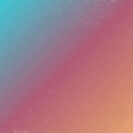 80s retro style abstract background with grunge effect. outer space colorful background. Illustration