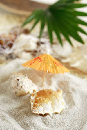 unbend: Still life - summer holiday detail Stock Photo