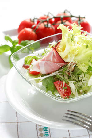 calorie: Small salad as a started, low calorie Stock Photo