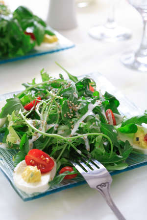 Healthy salad photo