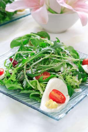 rocket lettuce: Healthy salad