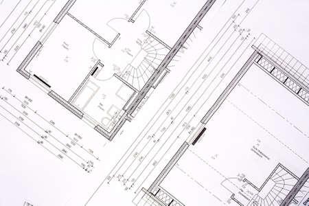 house plans - background Stock Photo - 1593170