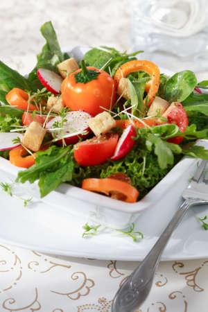 Diet salad photo