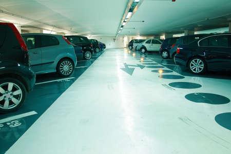 parked: Parking in the parking garage