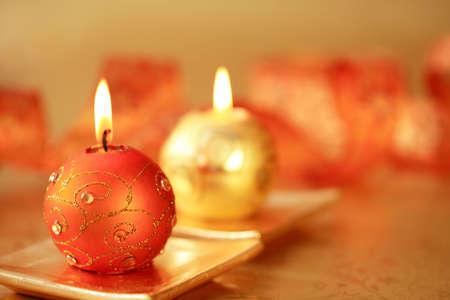 Beautiful Christmas candles