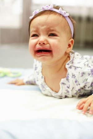 sobbing: Crying baby