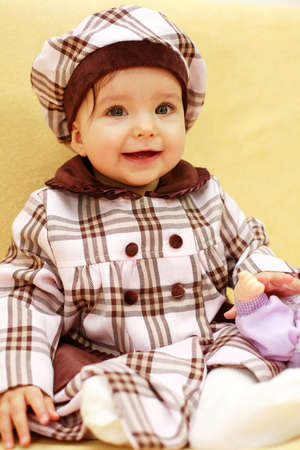Laughing baby Stock Photo - 2409676