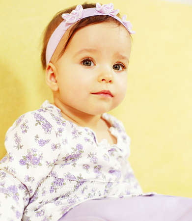 Portrait of cute baby Stock Photo - 2382051