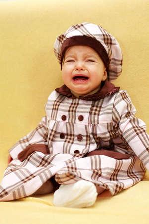 lamentation: Crying baby