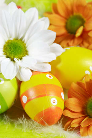 motive: Easter detail with Easter eggs or spring motive