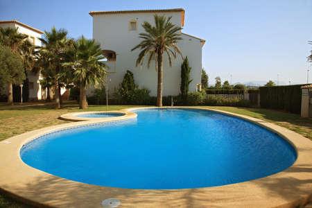 Spanish villas with swimming pool