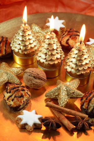 afters: Christmas still life Stock Photo