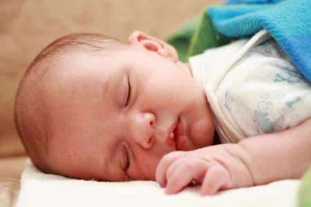Cute newborn is sleeping peacefully Stock Photo - 3689121