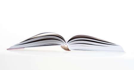 pressman: Detail of open book, close-up