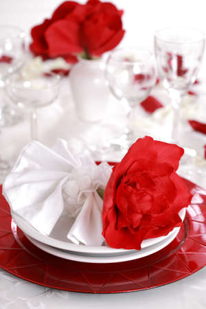 Fine place setting photo