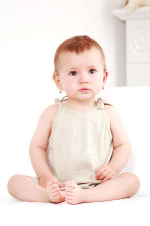Portrait of adorable small girl Banque d'images - 6457777