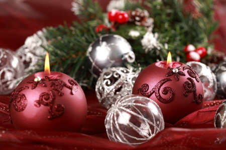 Still life with candlelight for Christmas Stock Photo - 7728198
