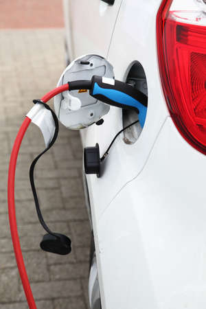 Detail of electric car charging battery Stock Photo - 9236758