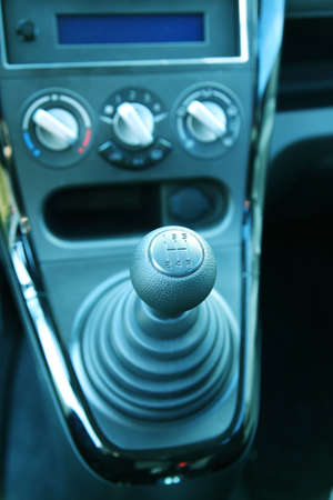 Detail of gearshift in the car Stock Photo - 10090334