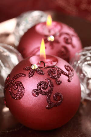 Still life with candlelight for Christmas Stock Photo - 10743393