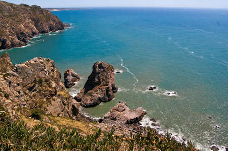 roca: Cabo da Roca view Stock Photo