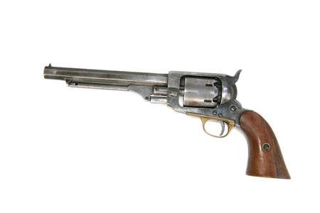 Cowboy Revolver Stock Photo