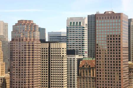 The San Francisco Financial District.