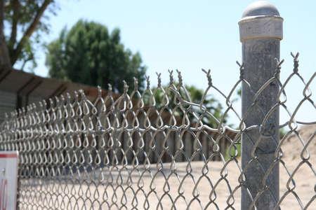 USA Mexican Border 1 Stock Photo