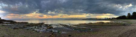 Scottish coastal landscape