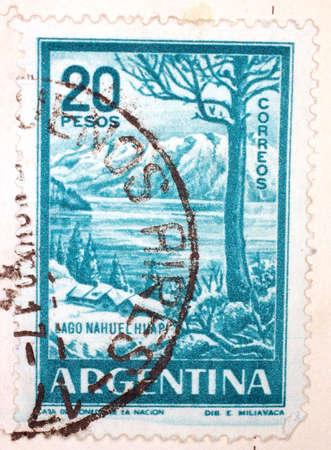 Vintage Argentinian Postage Stamp