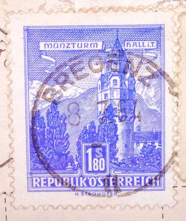 Vintage Austrian Postage Stamp