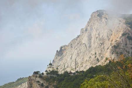 Foros Church in Crimea, Ukraine
