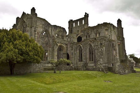 monastic site: Melrose Abbey, Scotland