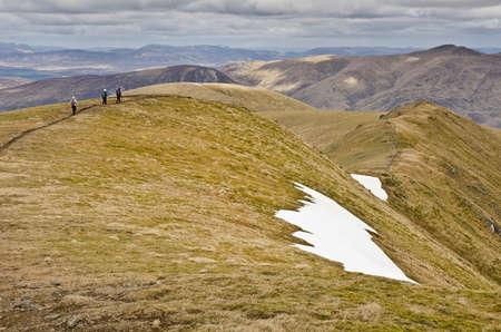 Meall Corranaich Summit Ridge
