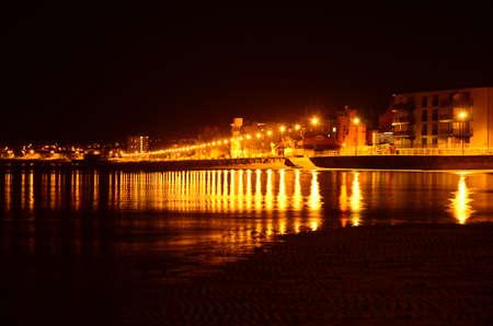 Portobello at Night, Edinburgh